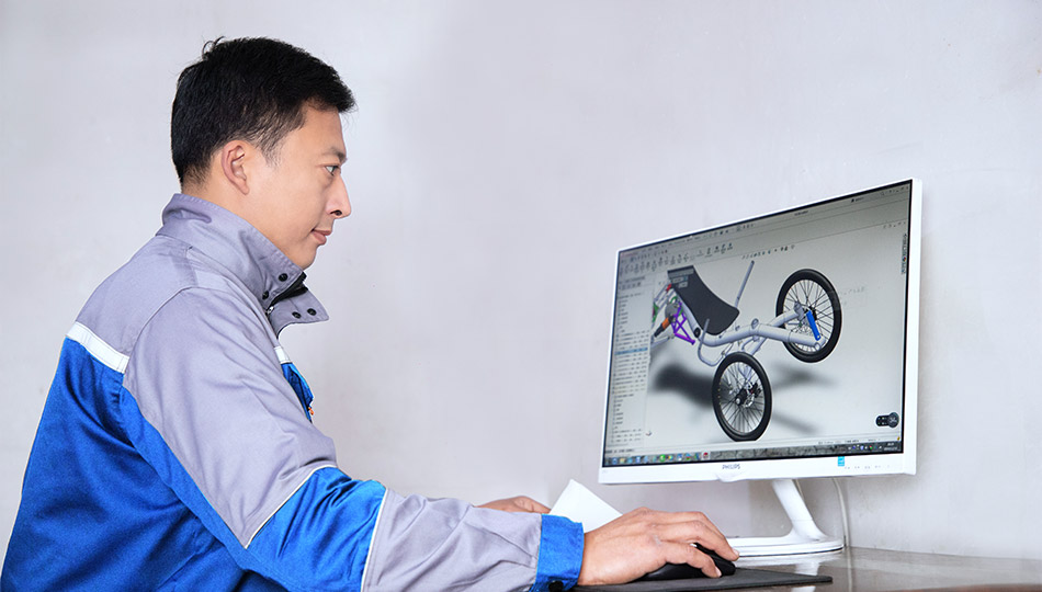 developing new models of trikes and quadricycles