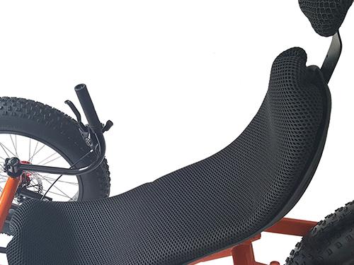 Ergo fiberglass seat