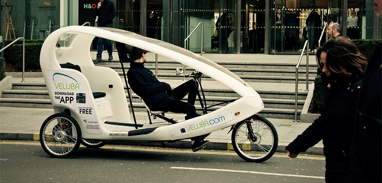 Veluba Taxi London Electric Powered Tricycle Image 12