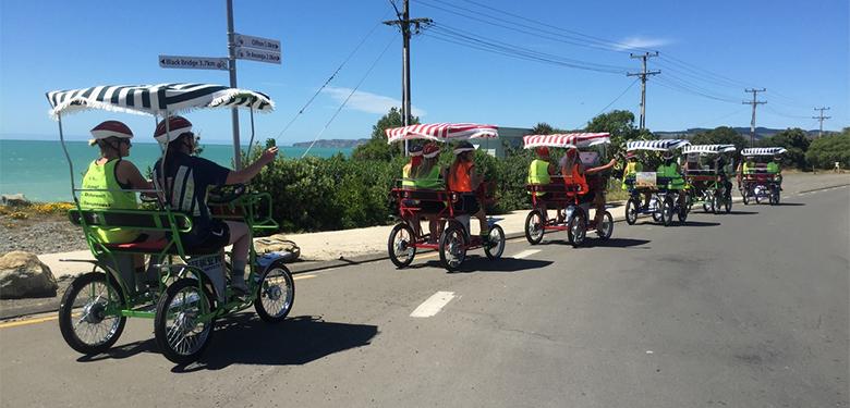 6 person bike video