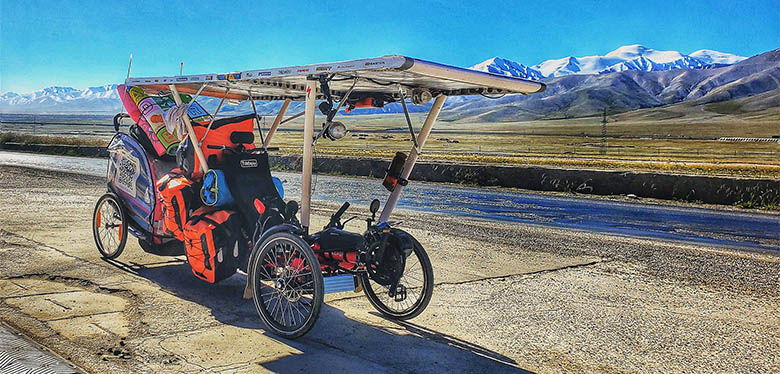 TrikExplor Solar Trike 1